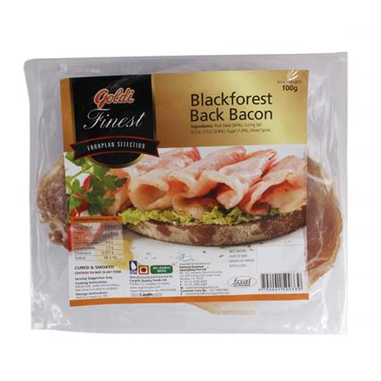 Blackforest Back Bacon - Goldi Finest