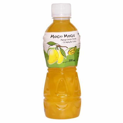 Mango  Juice Drink W/ Nata De Coco - Mogu Mogu