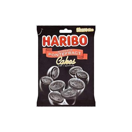 HARIBO PONTEFRACT CAKES 140 GM