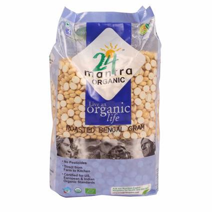 Roasted Bengal Gram Dal - 24 Mantra Organic