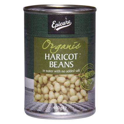 EPICURE HARICOT BEANS IN WATER 400G