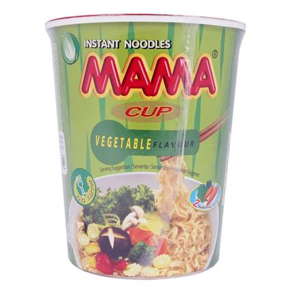 MAMA CUP VEGETABLE NOODLES 70G
