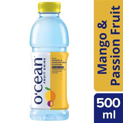 OCEAN FRUIT WATER  MANG PASION 500ML PET