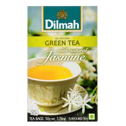 Green Tea W/ Natural Jasmine - 25 Tb - Dilmah