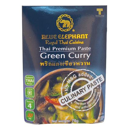 BLUE ELEPHANT GREEN CURRY PASTE 70G