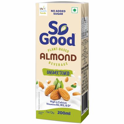 LHF ALMOND FRESH NATURAL MILK 200ML TET