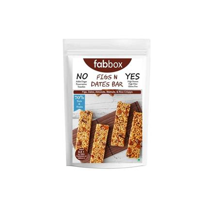 FABBOX FIGS N DATE HEALTH BAR 120G