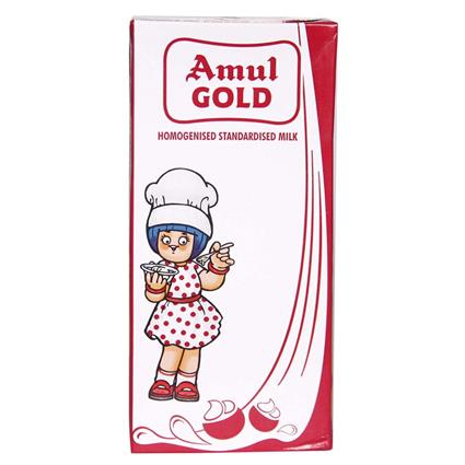 Gold  -  Homogenised Standarised Milk - Amul