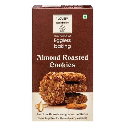 Almond Roasted Cookies - Lovely Bake Studio