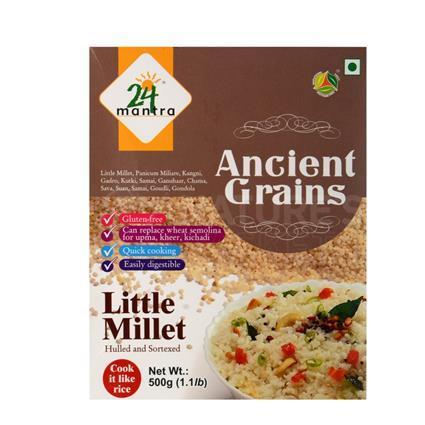Ancient Grains Little Millet - 24 Mantra Organic