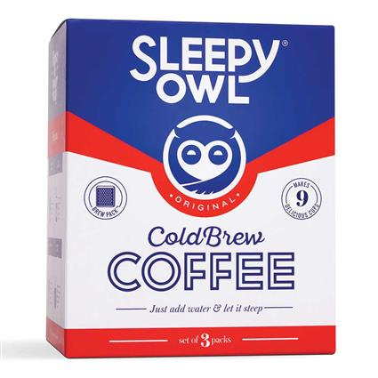 SLEEPY OWL ORIGINAL BREWPACKS SET OF 3