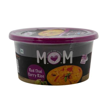 Mom Ready Meal Red Thai Curry Rice 75G