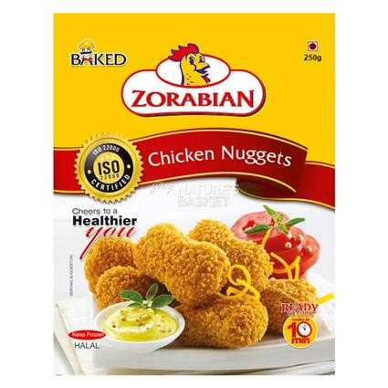 ZORABIAN CHICKEN NUGGETS 250G