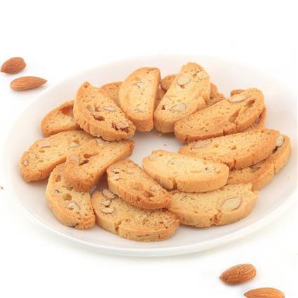 Almond Biscotti - Cafe Basilico