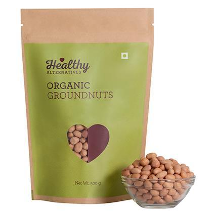 Organic Groundnuts - Healthy Alternatives
