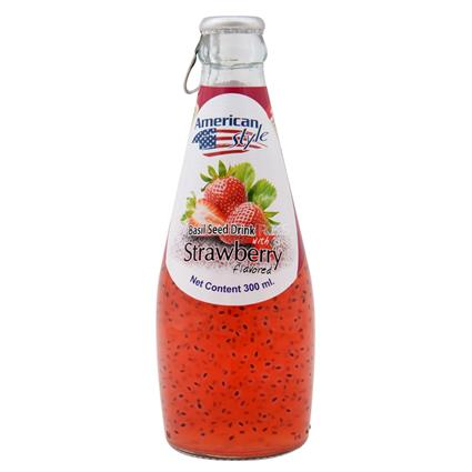 Basil & Strawberry Flavoured Juice - American Style
