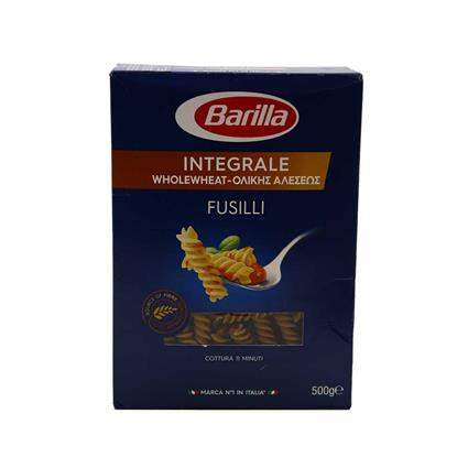 BARILLA  WHOLE WHEAT FUSILLI 500G