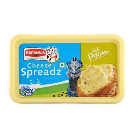 Cheese Spreadz -  Asli Pepper - Britania