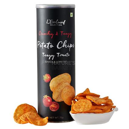 L EXCLUSIF RST POT CHIPS TANGY TOMATO NC