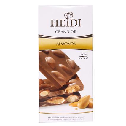 Grandor  -  Milk Chocolate W/ Caramelized Almonds - Heidi