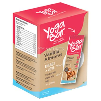 Almond Vanilla Nutrition Bar - Yoga Bar