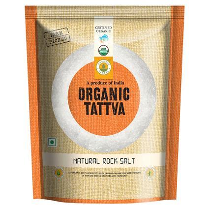 Natural Rock Salt Organic - Organic Tattva