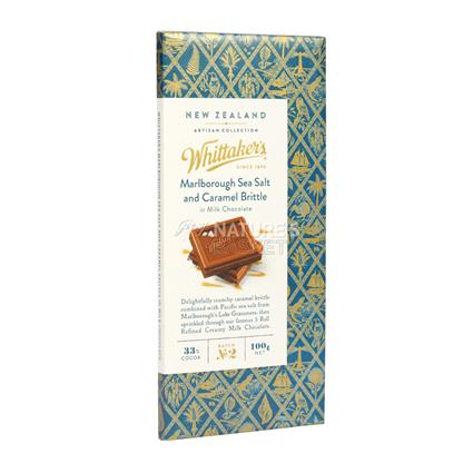 Sea Salt And Caramel Brittle Chocolate - Whittaker's