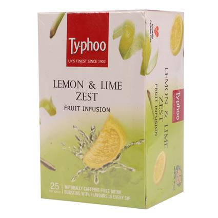 Lemon & Lime Zest Fruit Infusion Tea  -  25TB - Typhoo