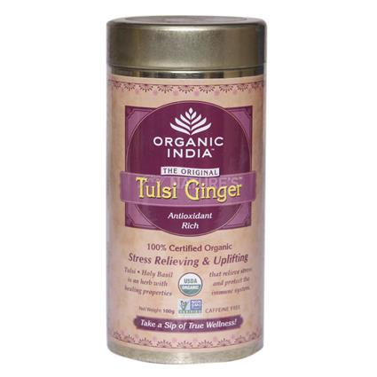 Tulsi Ginger Tea - Organic India