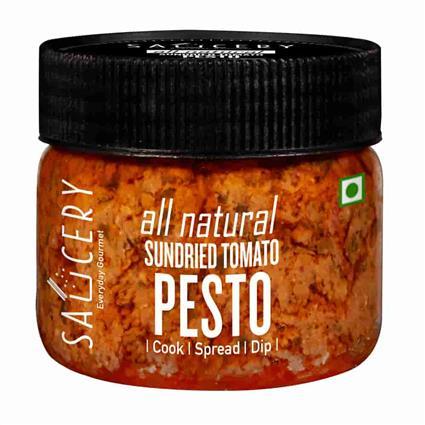 SAUCERY SUNDRIED TOMATO PESTO SAUCE 200G