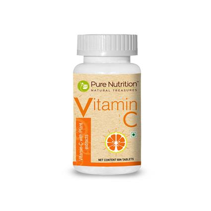 PURE NUTRITION VITAMIN C&Nbsp;60 TABS