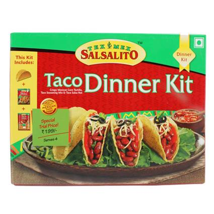 SALSALITO TACO DINNER KIT 285G