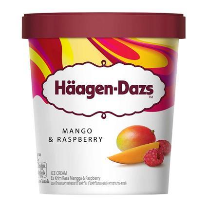 HAAGEN DAZS MANGO RASPBERRY 473Ml