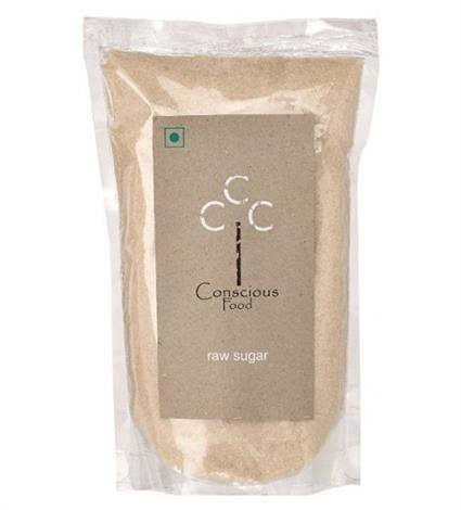 Raw Sugar  -  Organic - Conscious Food