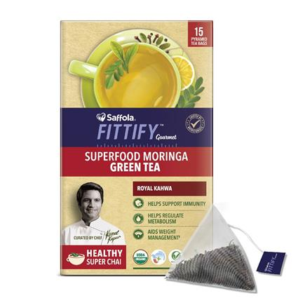 Moringa Green Tea - SAFFOLA FITTIFY