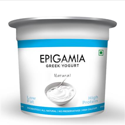Natural Greek Yoghurt - EPIGAMIA