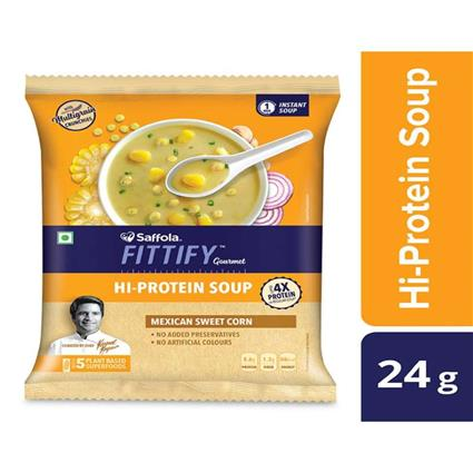 FITTIFY PROTEIN SOUP MEXICAN SW CORN 24G