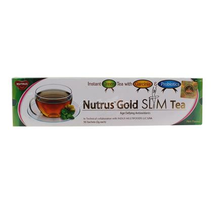 Gold Slim Tea  -  50 TB - Nutrus
