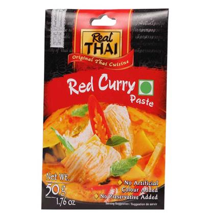 Red Curry Paste  -  Canned - Real Thai
