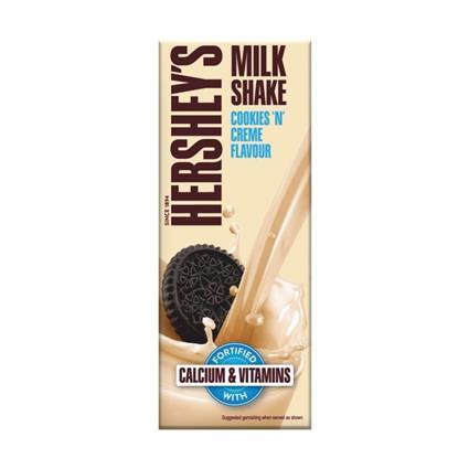 HERSHEY MILK SHAKE COOKIES N CREME 200Ml