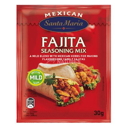 SANTA MARIA FAJITA SEASONING MIX 30G