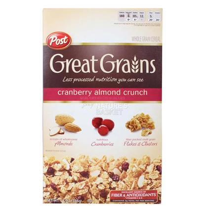 Cranberry Almond Crunch - Post