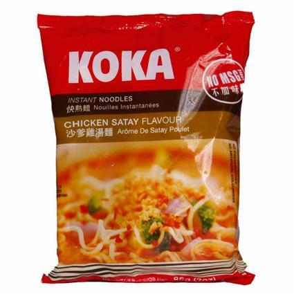 Instant Noodles  -  Chicken Satay - Koka