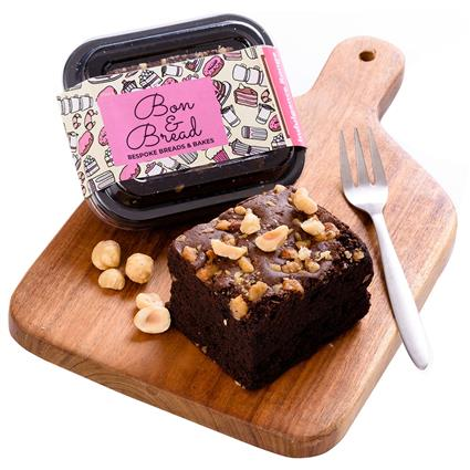Hazelnut Brownie - Bon & Bread