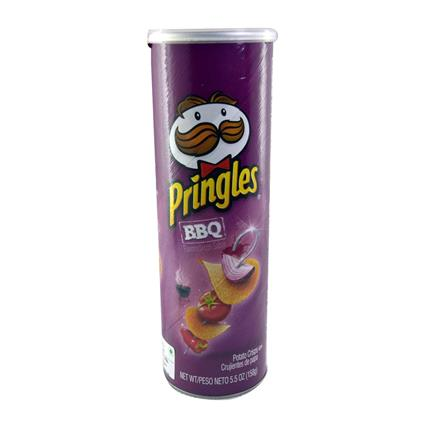 PRINGLES BARBEQUE FLAVORED 158 G