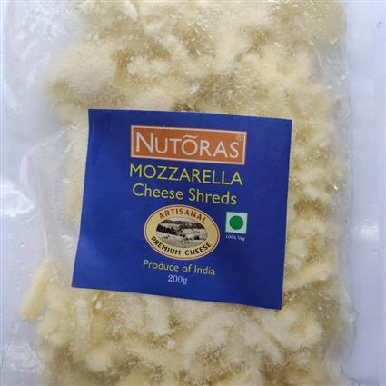 NUTORAS MOZERRELLA CHEESE SHREDS 200GSIS