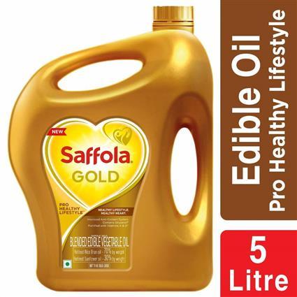 SAFFOLA GOLD OIL JAR 5Ltr
