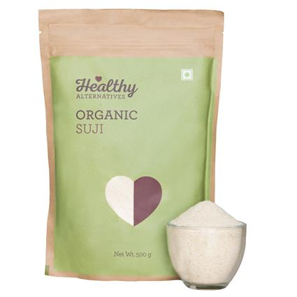 Organic Suji - Healthy Alternatives