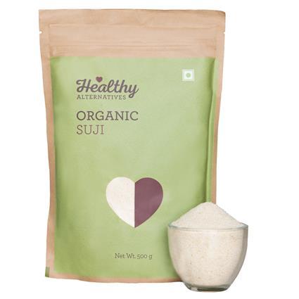 Organic Suji - Healthy Alternatives