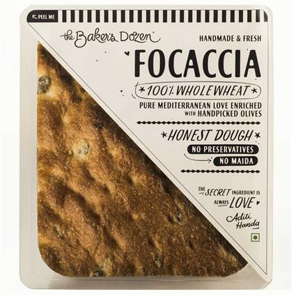 FOCACCIA 100% WHOLEWHEAT